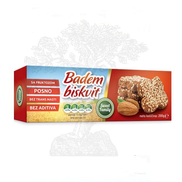Keks Badem biskvit 200g