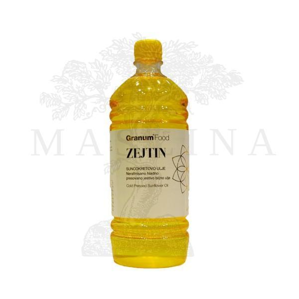 Zejtin-Suncokretovo hladno presovano ulje organic Granum 1l