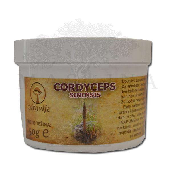 Cordyceps sinensis u prahu 50g