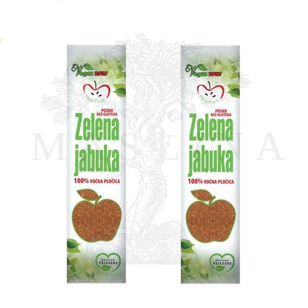 Voćna štanglica zelena jabuka Mela fruit 10g