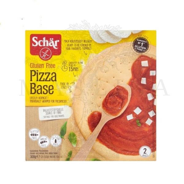 Schar podloga za pizzu bez glutena 300g