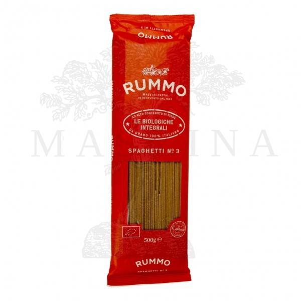 Organske integralne špagete Rummo 500g
