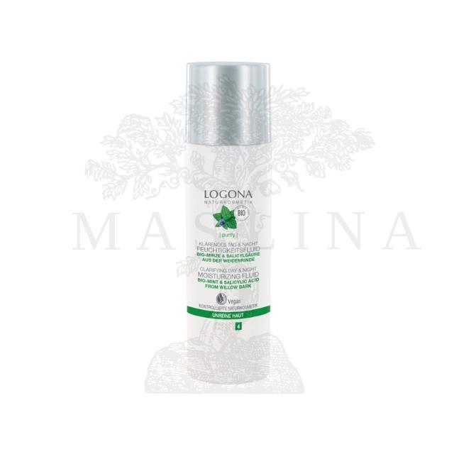 Logona fluid za pročišćavanje i hidrataciju masne kože 30ml