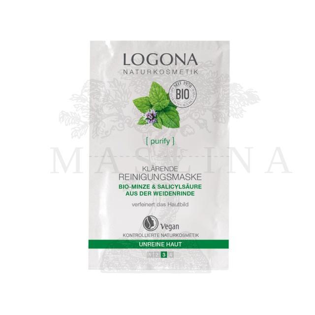 Logona pročišćavajuća maska za masnu i mešovitu kožu 2x7,5ml