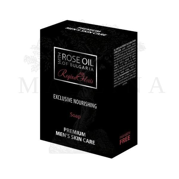 Hranljivi sapun za muškarce sa ružinim uljem 100g