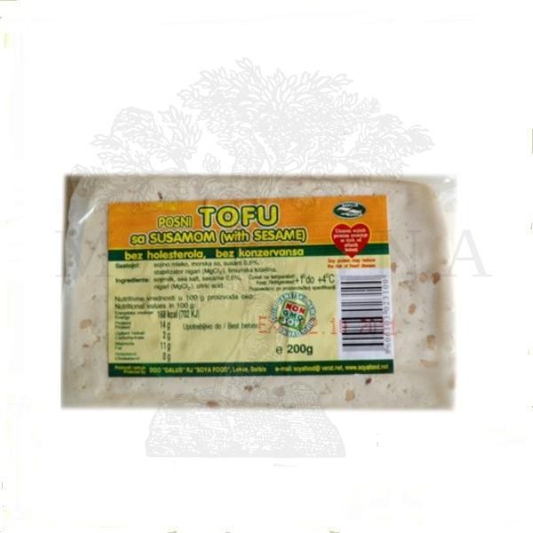 Tofu sir sa susamom 200g Soya Food