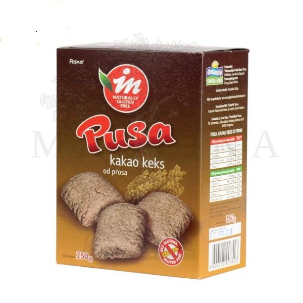 Pusa bezglutenski kakao proizvod sa prosom 150g