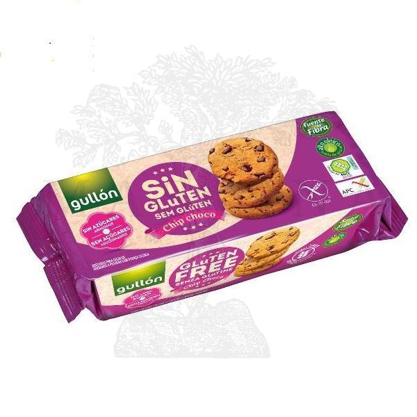 Gullon Chip choco keks bez šećera i glutena 130g