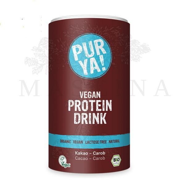 PUR YA Bio proteinski šejk kakao i rogač 550g