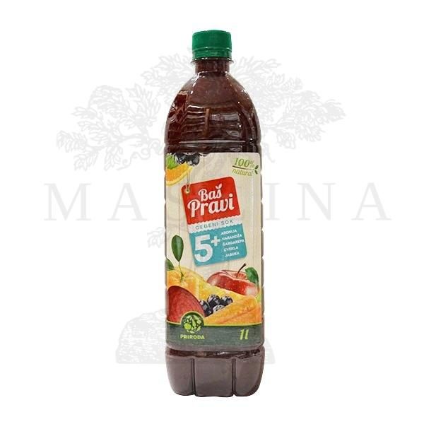 Multivitamin 5 plus Pravi sok 1l