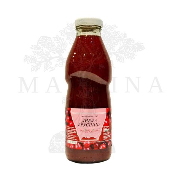 Matični sok od brusnice Plavo 500ml