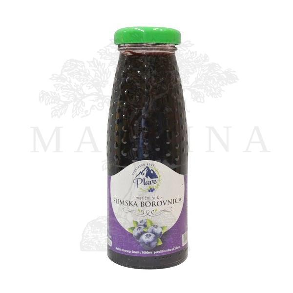 Matični sok šumska borovnica Plavo 200ml