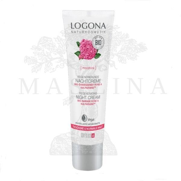 Logona regenerativna noćna krema za suvu i normalnu kožu 30ml