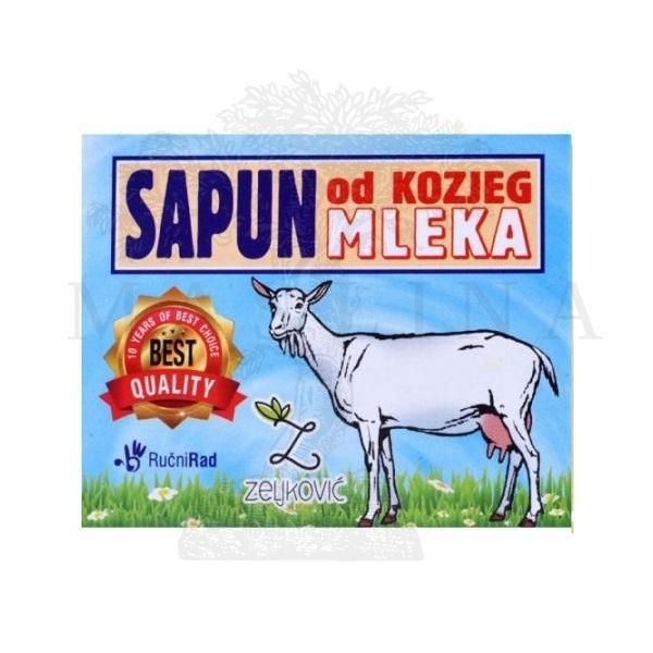Sapun od kozjeg mleka klasik 70g