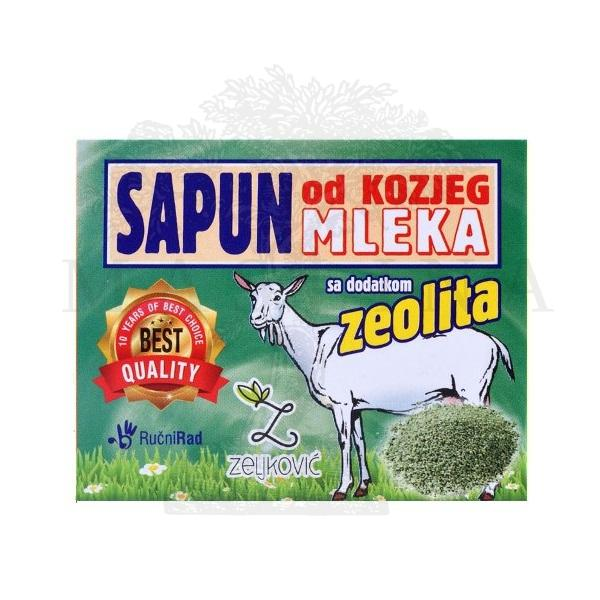 Sapun od kozjeg mleka sa dodatkom zeolita 70g