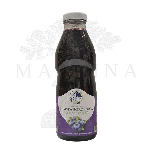 Matični sok od šumske borovnice  Plavo 500ml