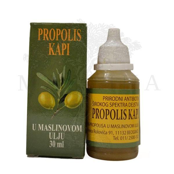 Propolis kapi u maslinovom ulju 30ml Kovačević
