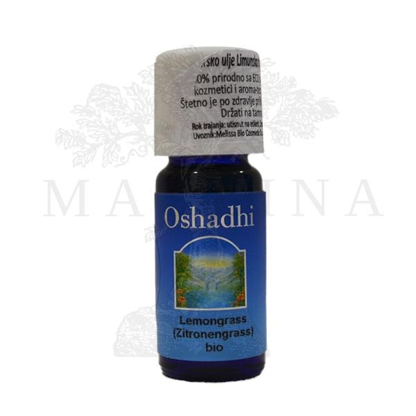 Oshadhi Eterično ulje Limunska trava 10ml