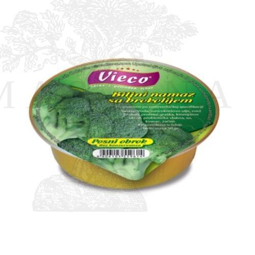 Posni Biljni namaz sa Brokolijem 50g
