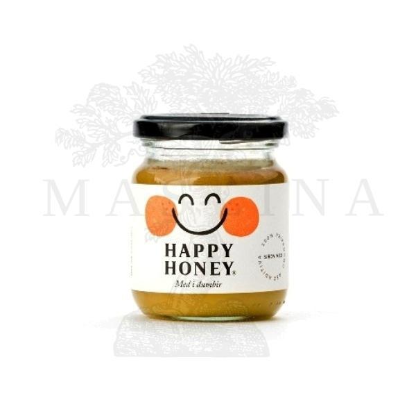 Med i đumbir Happy honey 250g