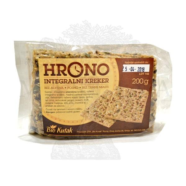 Hrono integralni kreker Bio Kutak 200g