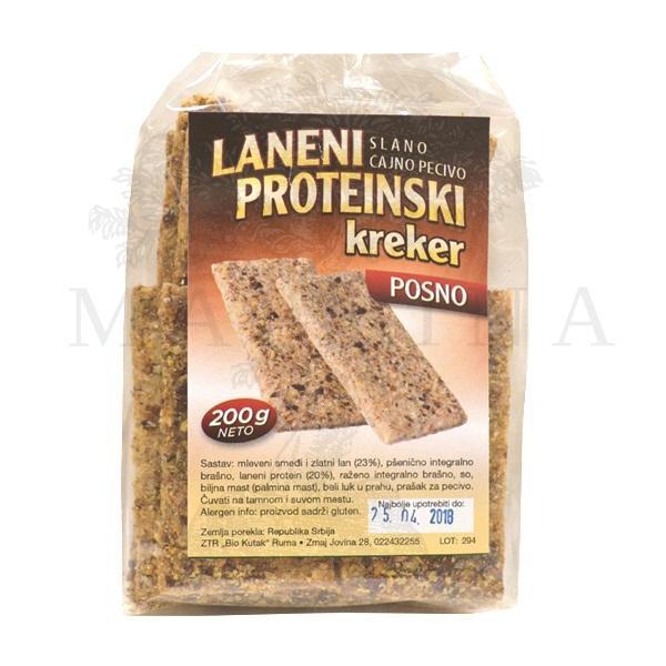 Laneni proteinski kreker Bio Kutak  200g