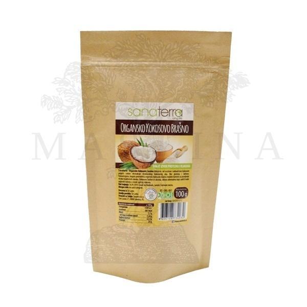 Kokosovo brašno organic Sanaterra 100g