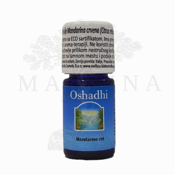 Oshadhi eterično ulje Mandarina crvena  5ml