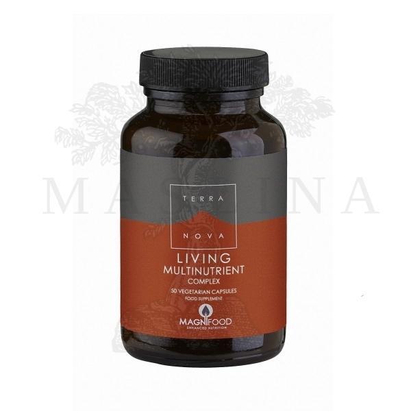 Terranova  Living multinutrient - vitaminsko mineralni dodatak ishrani 50 kapsula