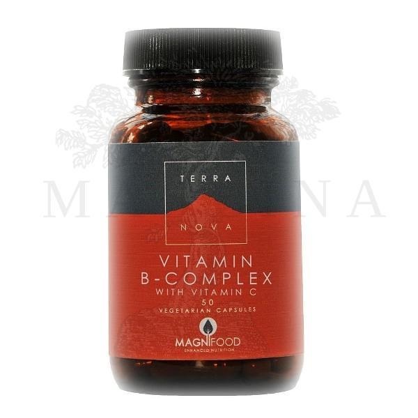 Terranova  B kompleks sa vitaminom C 50 kapsula