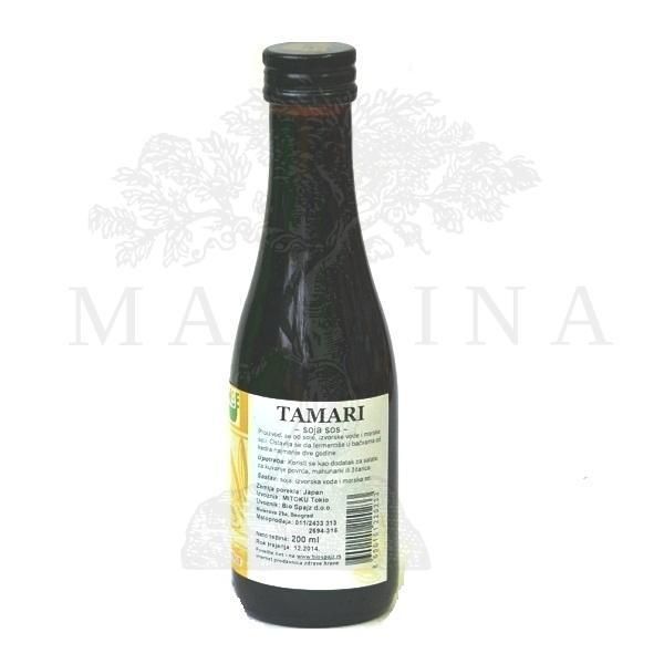 Tamari soja sos Mitoku 200ml
