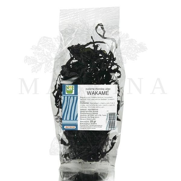 Alge Wakame Mitoku 25g