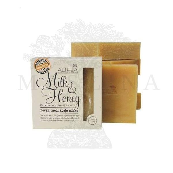 ALTHEA – Milk & Honey sapun 110g
