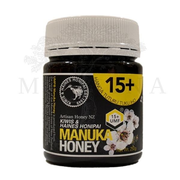 Manuka med UMF 15+ 250 g