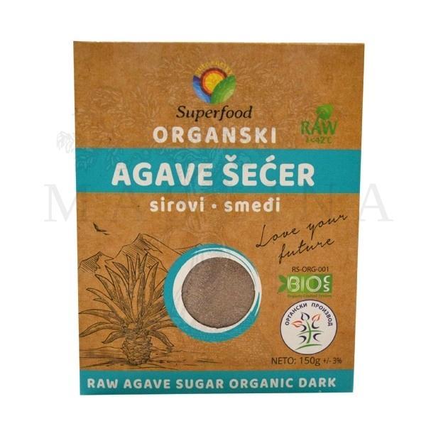 Šećer od agave sirovi organski 150g