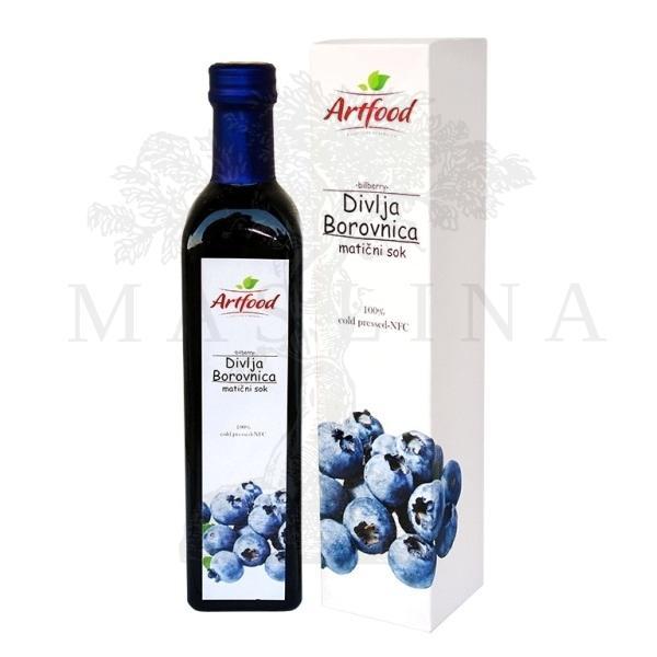 Matični sok Borovnice Artfood 500ml