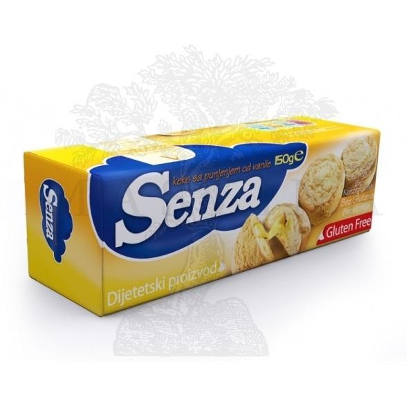 Senza keks vanila /bez glutena/ 150g