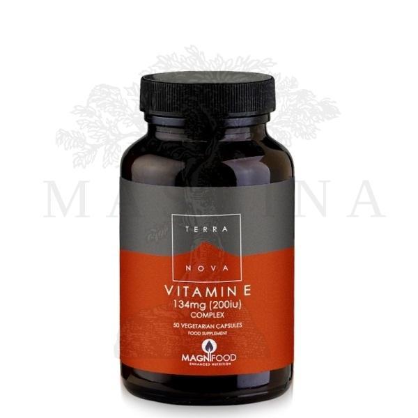Terranova Vitamin E kompleks 200 ui 50 kapsula