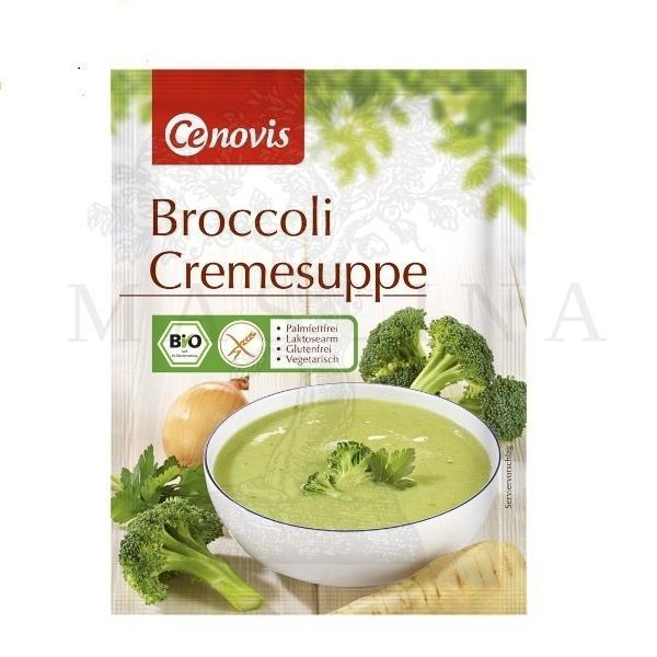 Organska krem supa od brokolija  bez glutena 45g