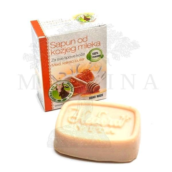 Hedera Sapun od kozjeg mleka – med  kakao buter 65g