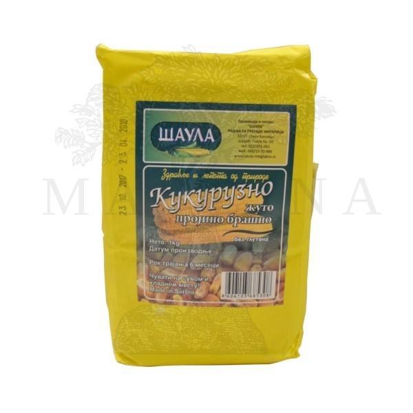 Žuto kukuruzno brašno Šaula 1kg