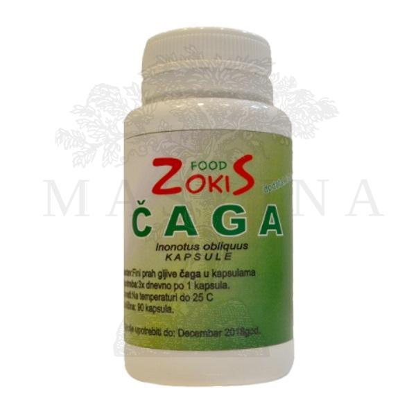 Čaga gljiva ZokiS Food 90 kapsula 32g