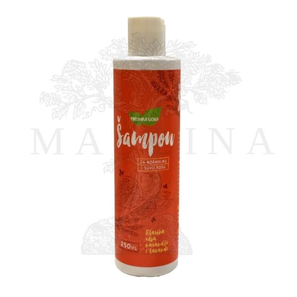 Freška Gora - Šampon za normalnu i suvu kosu 250ml