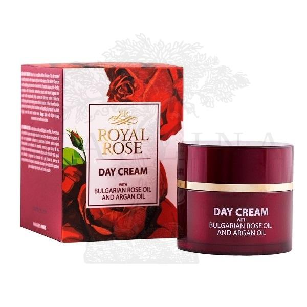Royal Rose Dnevna krema sa arganovim i ružinim uljem 50ml