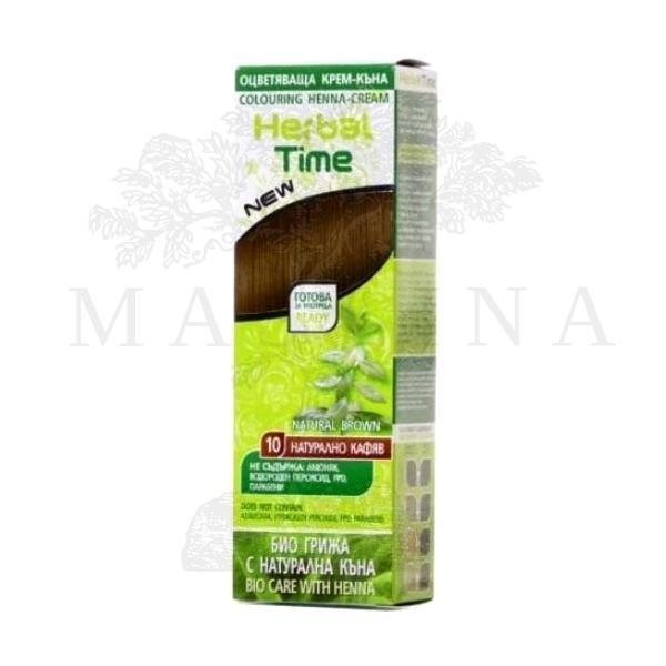 Herbal Time Kana za kosu u gelu 10 braon 75ml
