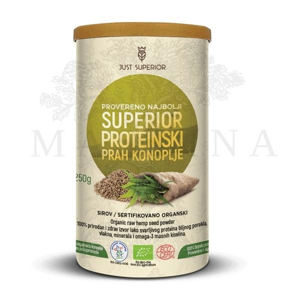 Proteinski prah konoplje organic Just Superior 250g
