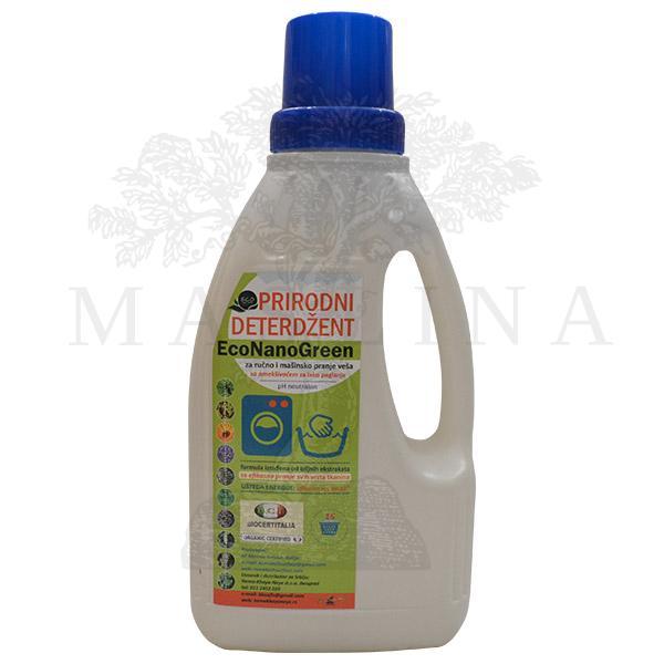 Eco Nano Green Prirodni organski deterdžent za ručno i mašinsko pranje veša 1l