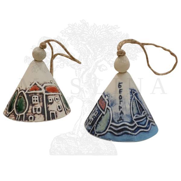 Keramičko zvono srednje R.D.
