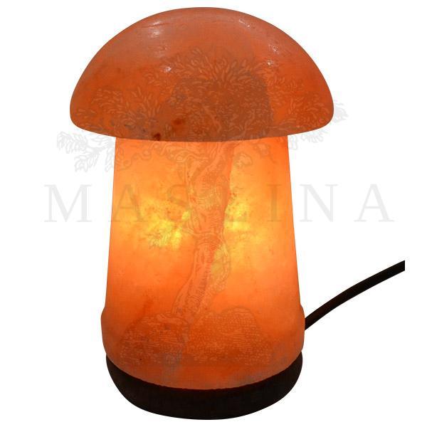 Lampa od himalajske soli Pečurka