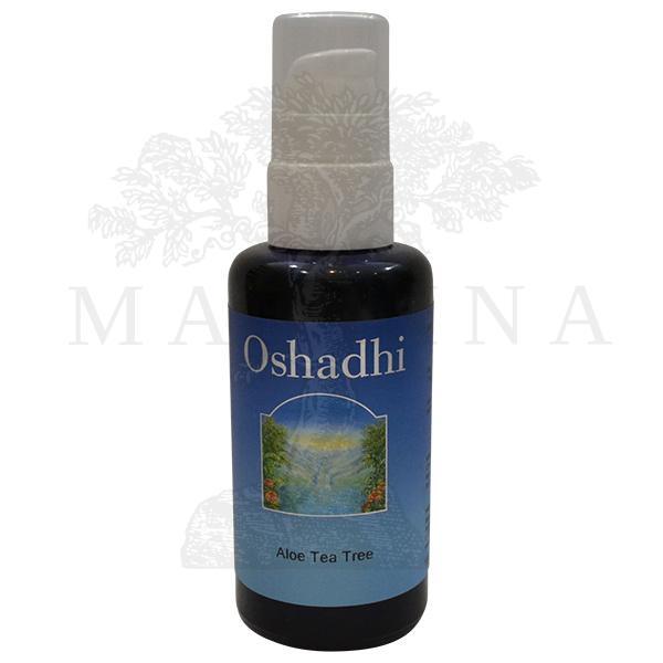 Oshadhi Aloa vera gel čajevac 100ml